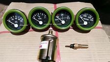 24v Electrical Gauges 52mm  - Oil Pressure  + Temp + Fuel + Volt with Senders