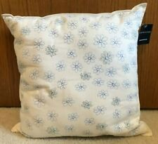 Tommy Hilfiger Petals Embroidered Decorative Pillow NWT