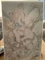 Grimm Fairy Tales #25 Exclusive Sketch Cover By Eric EBAS Basaldua