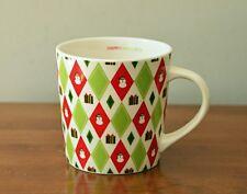 Starbucks Barista 2003 Happy Holidays Christmas Snowman Coffee Cup Mug 16 oz.