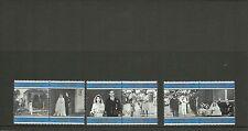 ST HELENA SG746A-751-GOLDEN WEDDING OF QE11 -MNH