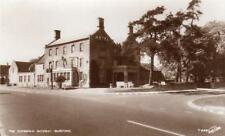 Cotswold Gateway Hotel Pub Burford RP old pc used 1939 Walter Scott