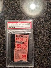 1967 Willie Mays HR #558 & Mike McCormick W#101 baseball ticket stub