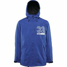 2016 NWT MENS THIRTYTWO SHILOH SNOWBOARD JACKET $256 XL blue white 32