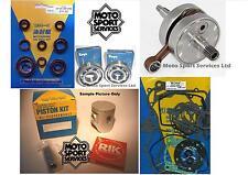 Honda CR 125 92-97 Mitaka Engine Rebuild Kit Crank Piston C Mains Gasket Seal