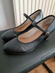 KATZ Ladies black dance/stage shoes size 7