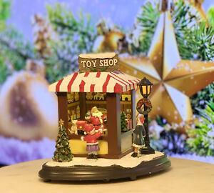 Santa's Toy Shop - Christmas Village