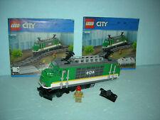 LEGO City Eisenbahn #60198 - Lokomotive (ohne Bluetooth-Elemente)