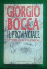 GIORGIO BOCCA - IL PROVINCIALE - MONDADORI