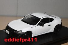 1/43 2012 TOYOTA 86 RC COUPE IN WHITE WITH BLACK BUMPERS BY EBBRO