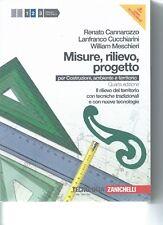 MISURE, RILIEVO, PROGETTO - R. CANNAROZZO/ L. CUCCHIARINI/ W. MESCHIERI - VOL.2
