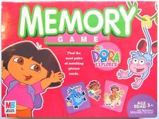 Dora The Explorer Memory Card Game Finding Pairs for Matching Picture Cards