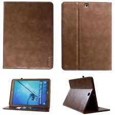 COVER in pelle per Samsung Galaxy Tab s2 8.0 piccolo t715 t719 Case Custodia Protettiva Borsa