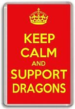 KEEP CALM AND SUPPORT DRAGONS, CATALAN DRAGONS RUGBY TEAM Fridge Magnet