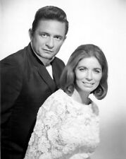 "Johnny Cash June Carter 13 x 19"" Photo Print"