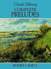 Claude Debussy Complete Preludes Learn to Play Piano Music Book 1 & 2