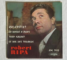 ROBERT RIPA Qui c'est-y ? 7339 DEDICACE