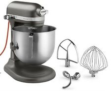 KitchenAid Commercial 7-Qt Bowl NSF Stand Mixer RKSM7990dp Dark Pewter Black
