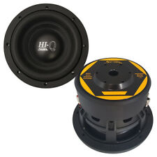 "Promo Sale! Savard Speakers Hi-Q 8"" Dual-2 Ohm Subwoofer"