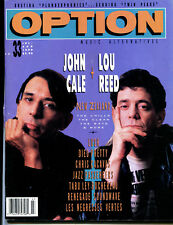 OPTION magazine no.33 (USA 1990)   John Cale    Lou Reed    New Zealand   Lush
