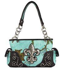 Concealed Carry Purse Camo Realtree Sea Glass Camouflage Handbag