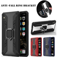 For Apple iPhone Xs MAX Xr X 6 6S 7 8 Plus Magnetic Ring Holder Armor Case Cover