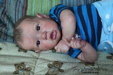 Adorable Reborn Bonnie Brown SASKIA Baby Boy *TINY*SPROUTS*REBORNS*
