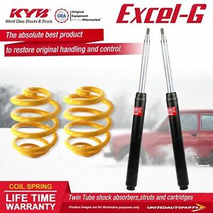 Front KYB EXCEL-G Shock Absorbers Lowered King Springs for NISSAN Skyline R31 I6