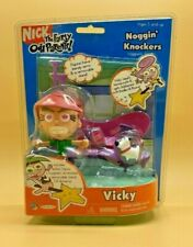 The Fairly Odd Parents Noggin' Knockers Figure Vicky 2003 New in package