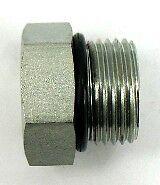 AF 7237-10 - 5/8 Male O-ring Boss Plug Hex Head