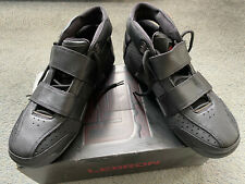 Nike 20-5-5 Negro-Rojo Universitario Nueva Marca Reino Unido 14 Vintage Y Caja Original