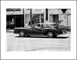 Black and White Photograph - Montecarlo for the Haul -  8.5X11 Archival Print