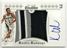 2014-15 Excalibur Kyle Anderson Auto RC RPA Rookie Rampage Jumbo Spurs Grizzlies