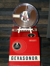 """Reel to Reel Audio Tape Gevaert Brand 5 & 3/4 """" Boxed and in Good Condition"""