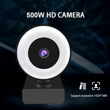2160P High-definition Web Cam Fill Light Microphone Video for Pc Desktop Laptop