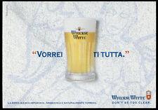 cartolina pubblicitaria PROMOCARD n.3692 WIECKSE WITTE BIRRA BEER