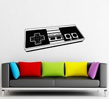 Wall Sticker Vinyl Decal Game Controller Joystick Video Game Console (ig1182)