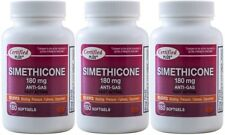 Simethicone 180 mg Gas Relief Generic for Phazyme Ultra Strength 540 Gelcaps