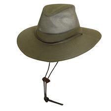 Dorfman Pacific Dpc Boot Barn L LARGE GREEN BUSH BOONIE HAT CINCH CRUSHABLE CAP
