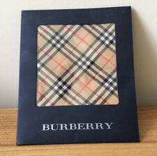 Burberry Nova Check Pocket Square Handkerchief New In Box
