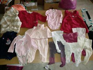 Lot bébé 12 vêtements naissance à 2 mois