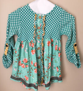 Girls Matilda Jane Once Upon A Time Pecan Pie Top Size 10