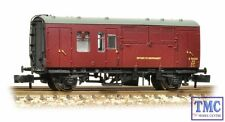373-360A Graham Farish N Gauge BR Mk1 Horse Box Maroon