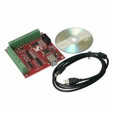 USB MACH3 100Khz Breakout Board 4 Axis Interface Driver Motion Controller for…