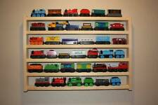TWO Train Rack BASIC Thomas & Friends display storage wall shelf wooden railway