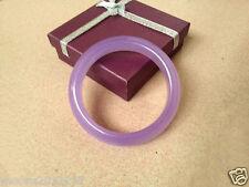 Genuine top fashion beautiful natural Purple violets Jade Bangle bracelet