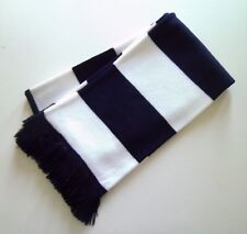 Navy Blue & White Football Bar-Scarf Tottenham Hotspur Colours And Scarves