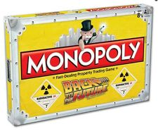 MONOPOLY BACK TO THE FUTURE COLLECTORS EDITION