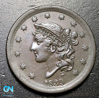 1839 Coronet Head Large Cent   --  MAKE US AN OFFER!  #B3640