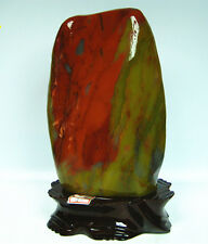 3800g Natural xinjiang Color jade polishing jade SPECIMEN HEALING CHINA